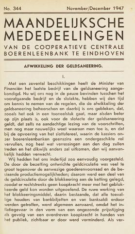 blad 'Maandelijkse Mededelingen' (CCB) 1947-11-01