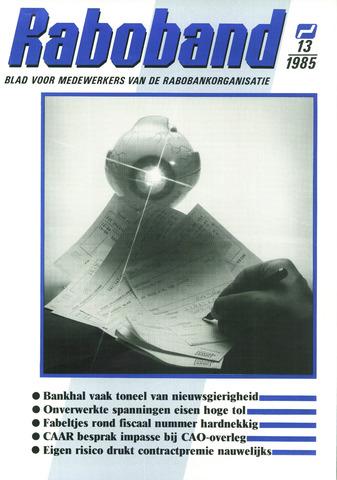 blad 'Raboband' 1985-09-25