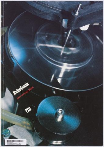 Jaarverslagen Rabobank 1986-12-31