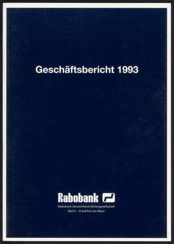 Geschäftsberichte Allgemeine Deutsche Credit-Anstalt / ADCA Bank 1993-01-01