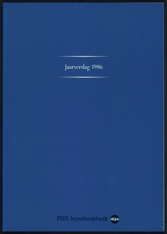 Jaarverslagen Friesch-Groningsche Hypotheekbank / FGH Bank 1986