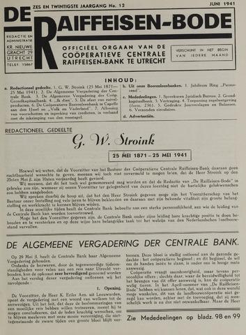 blad 'De Raiffeisen-bode' (CCRB) 1941-06-01