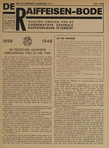 blad 'De Raiffeisen-bode' (CCRB) 1948-07-01