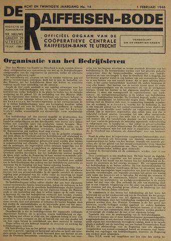 blad 'De Raiffeisen-bode' (CCRB) 1946-02-01