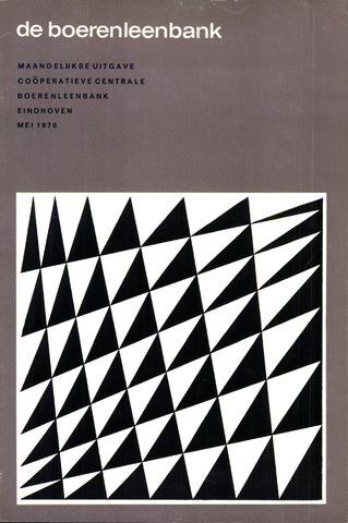 blad 'de boerenleenbank' (CCB) 1970-05-01