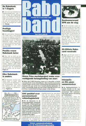 blad 'Raboband' 1990-12-17