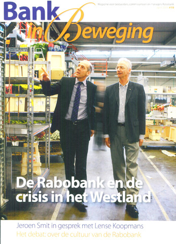 blad 'Bank in Beweging' 2010-04-01