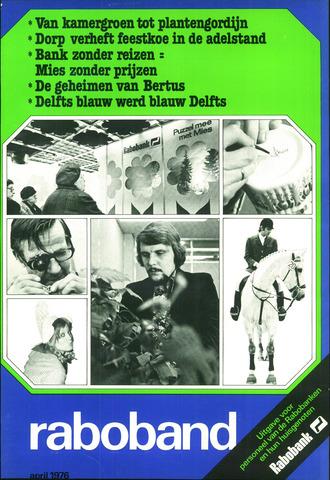 blad 'Raboband' 1976-04-01