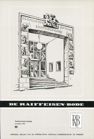 blad 'De Raiffeisen-bode' (CCRB) 1960-11-01