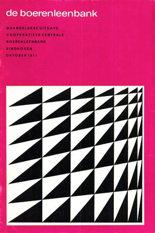 blad 'de boerenleenbank' (CCB) 1971-10-01