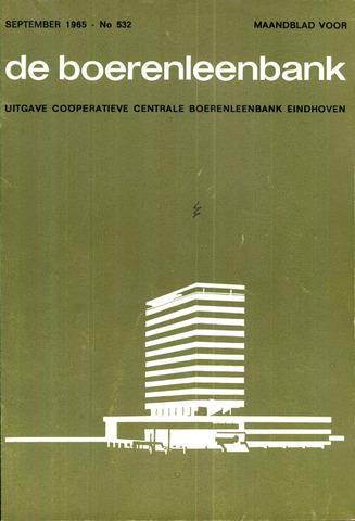 blad 'de boerenleenbank' (CCB) 1965-09-01