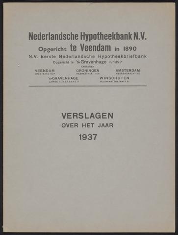 Jaarverslagen Nederlandsche Hypotheekbank 1937