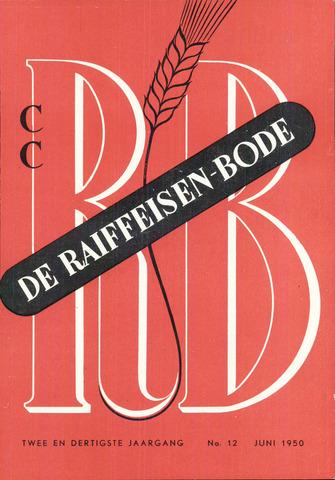 blad 'De Raiffeisen-bode' (CCRB) 1950-06-01