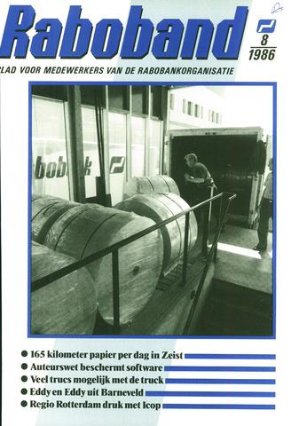 blad 'Raboband' 1986-06-11