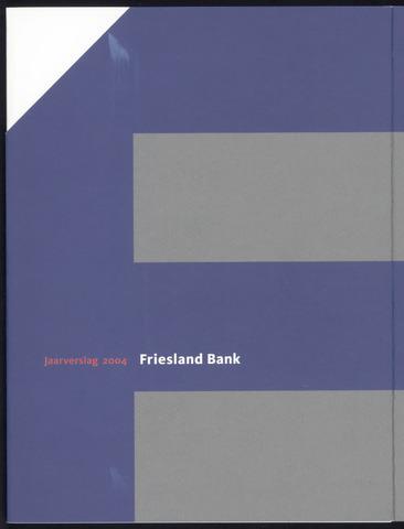 Jaarverslagen Friesland Bank 2004