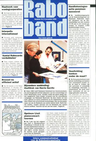 blad 'Raboband' 1990-11-02