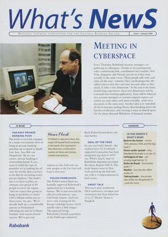 blad 'What's news' (EN) 1996