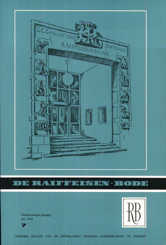 blad 'De Raiffeisen-bode' (CCRB) 1961-07-01