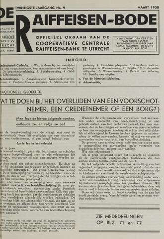 blad 'De Raiffeisen-bode' (CCRB) 1935-03-01