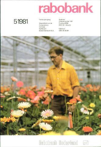 blad 'Rabobank' 1981-05-01