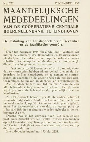 blad 'Maandelijkse Mededelingen' (CCB) 1935-12-01