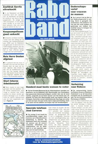blad 'Raboband' 1991