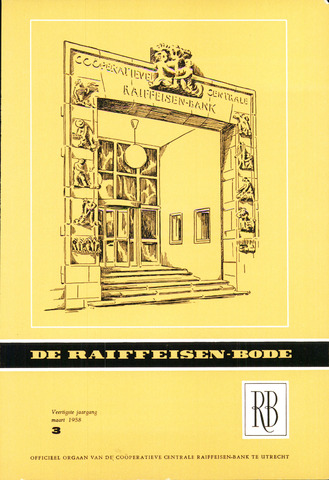 blad 'De Raiffeisen-bode' (CCRB) 1958-03-01