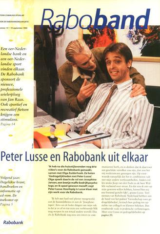 blad 'Raboband' 1995-09-18