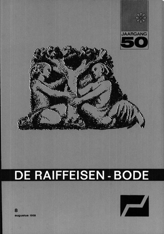 blad 'De Raiffeisen-bode' (CCRB) 1968-08-01