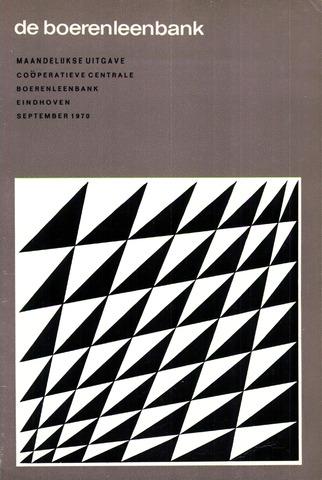 blad 'de boerenleenbank' (CCB) 1970-09-01