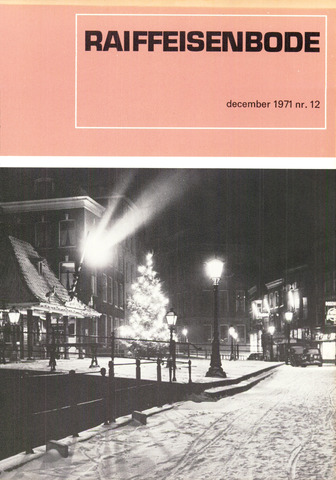 blad 'De Raiffeisen-bode' (CCRB) 1971-12-01