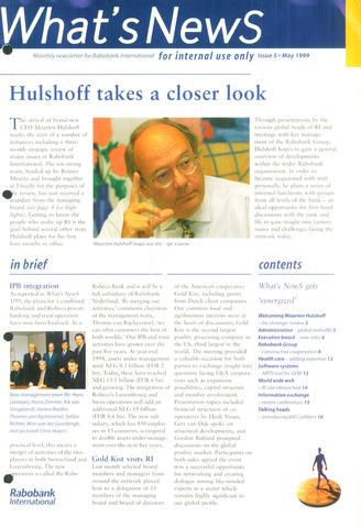 blad 'What's news' (EN) 1999-05-01