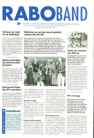 blad 'Raboband' 1993-11-29