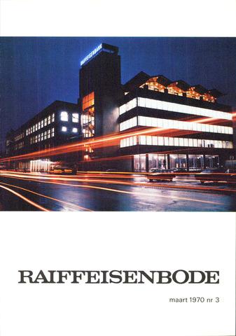 blad 'De Raiffeisen-bode' (CCRB) 1970-03-01