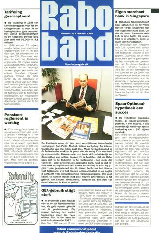 blad 'Raboband' 1989-02-03