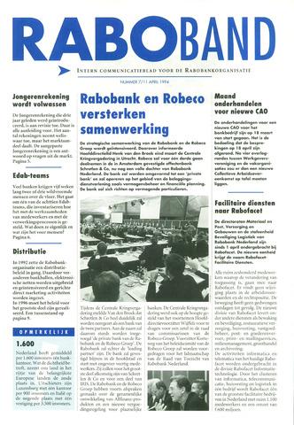 blad 'Raboband' 1994-04-11