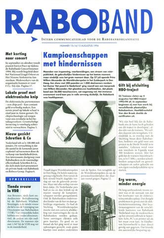 blad 'Raboband' 1994-08-15