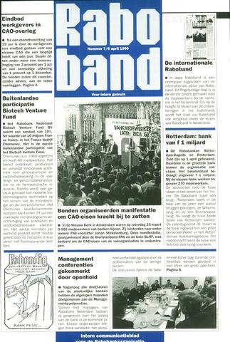 blad 'Raboband' 1990-04-06