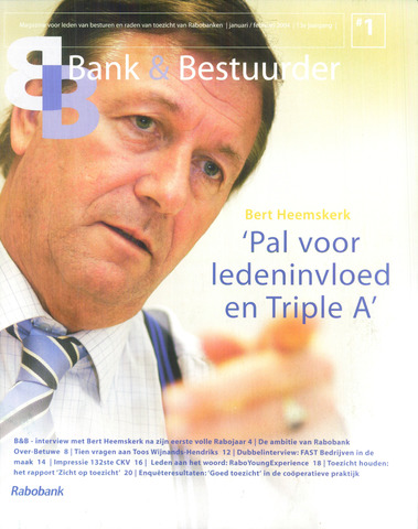 blad 'Bank & Bestuurder' 2004