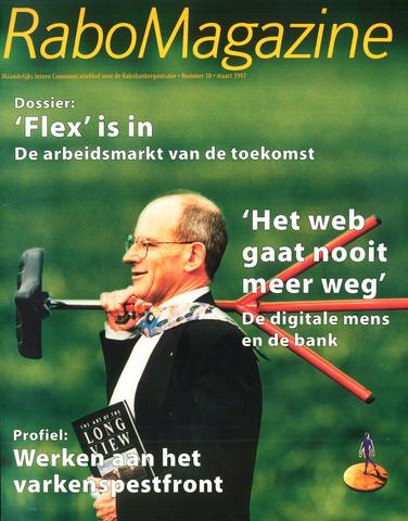 blad 'RaboMagazine' 1997-03-01