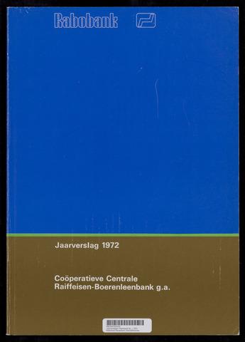Jaarverslagen Rabobank 1972-12-31