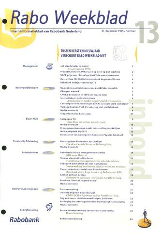 Rabo Weekblad 1995-12-21