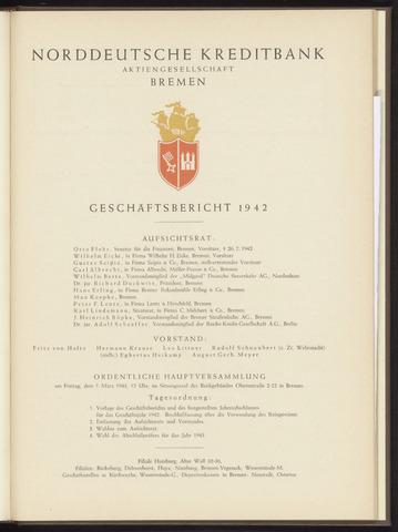 Geschäftsberichte Norddeutsche Kreditbank 1942-01-01