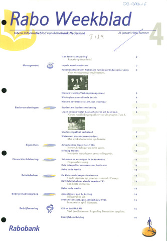 Rabo Weekblad 1996-01-25