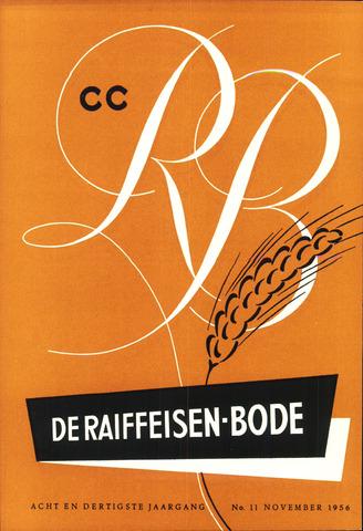 blad 'De Raiffeisen-bode' (CCRB) 1956-11-01