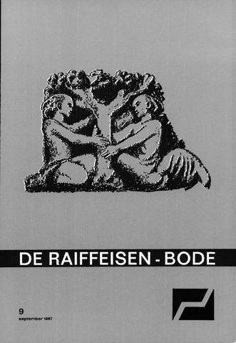 blad 'De Raiffeisen-bode' (CCRB) 1967-09-01