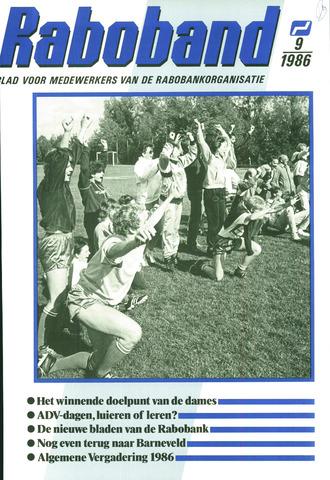 blad 'Raboband' 1986-07-02