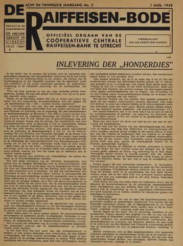 blad 'De Raiffeisen-bode' (CCRB) 1945-08-01