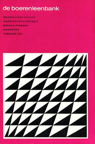 blad 'de boerenleenbank' (CCB) 1971-02-01
