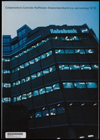 Jaarverslagen Rabobank 1978-12-31